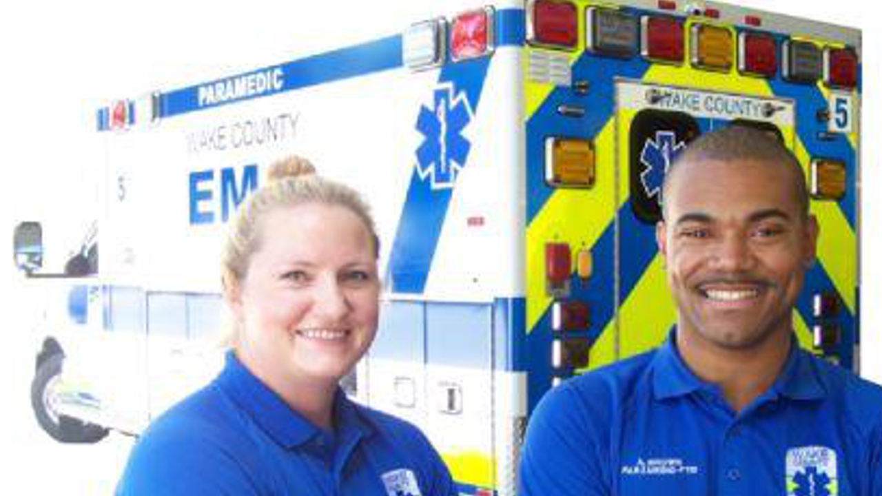 Wake County emergency medical technicians
