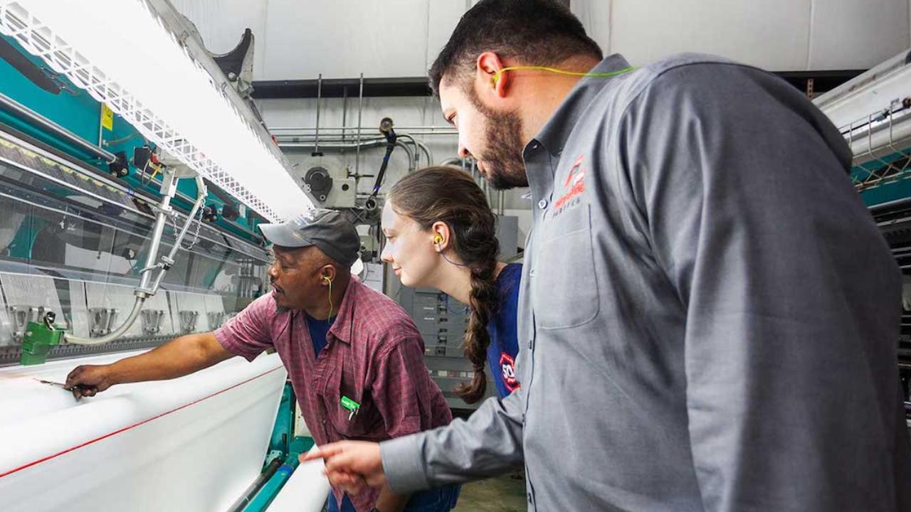 Apprentice in the Career Accelerator Program