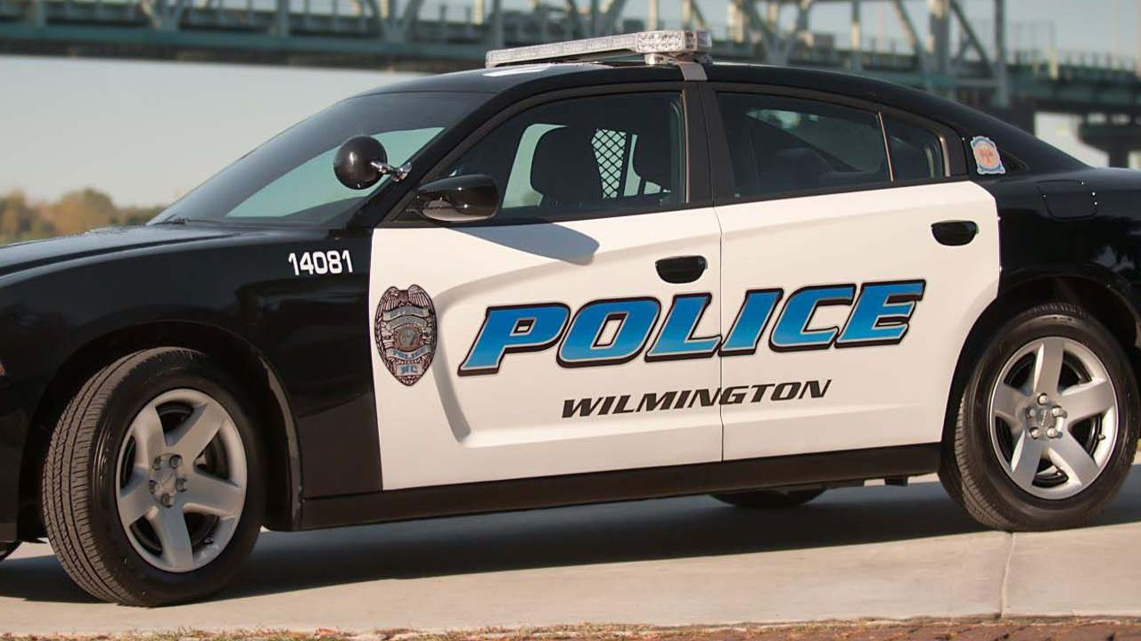 Wilmington Police car