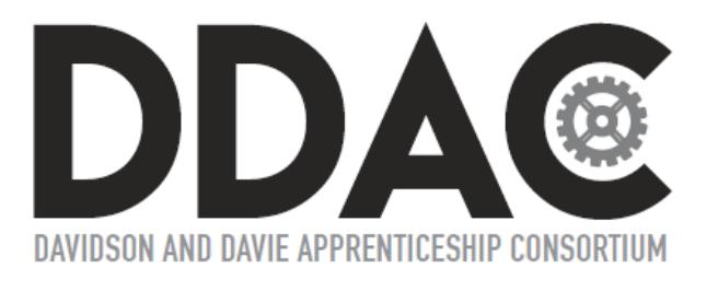 Davidson and Davie Apprenticeship Consortium logo
