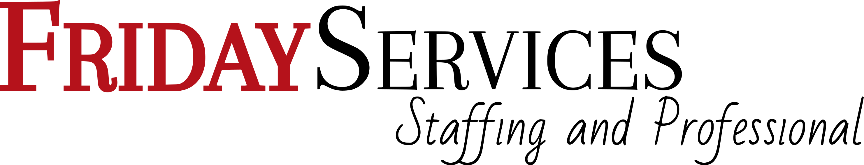 Friday Services logo