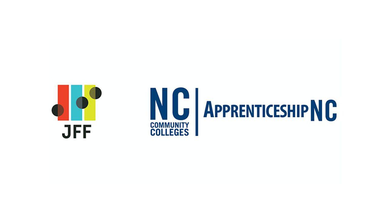 JFF and ApprenticeshipNC logos