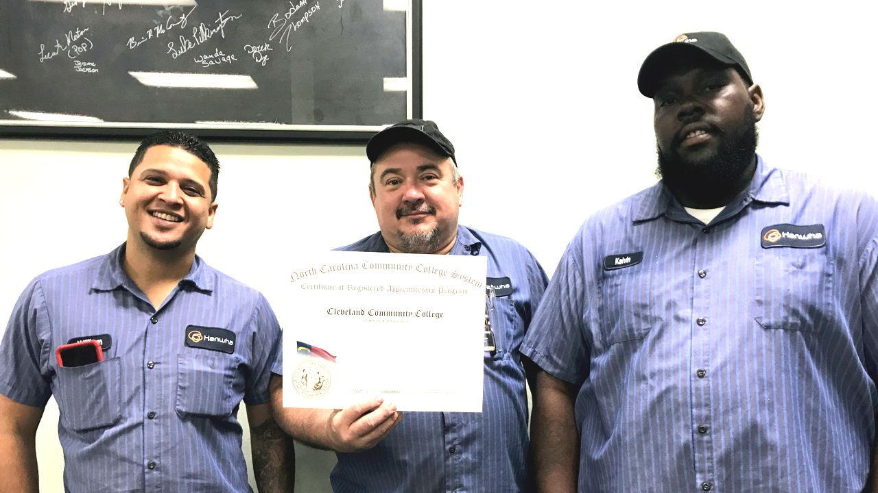 Apprenticeship Cleveland graduates