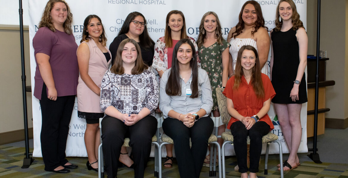 Ten Surry-Yadkin Works Interns Sign with Northern Regional Hospital as Apprentices