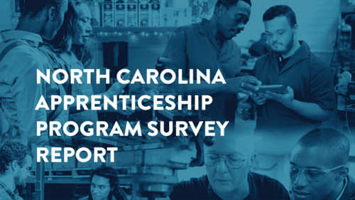 Cover of North Carolina Apprenticeship Program Survey Report