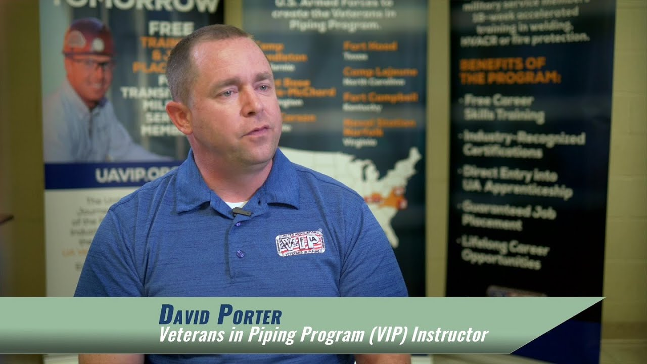 2020 Outstanding Registered Pre-Apprenticeship Program - Veterans in Piping