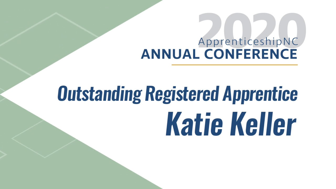 2020 Outstanding Registered Apprentice - Katie Keller