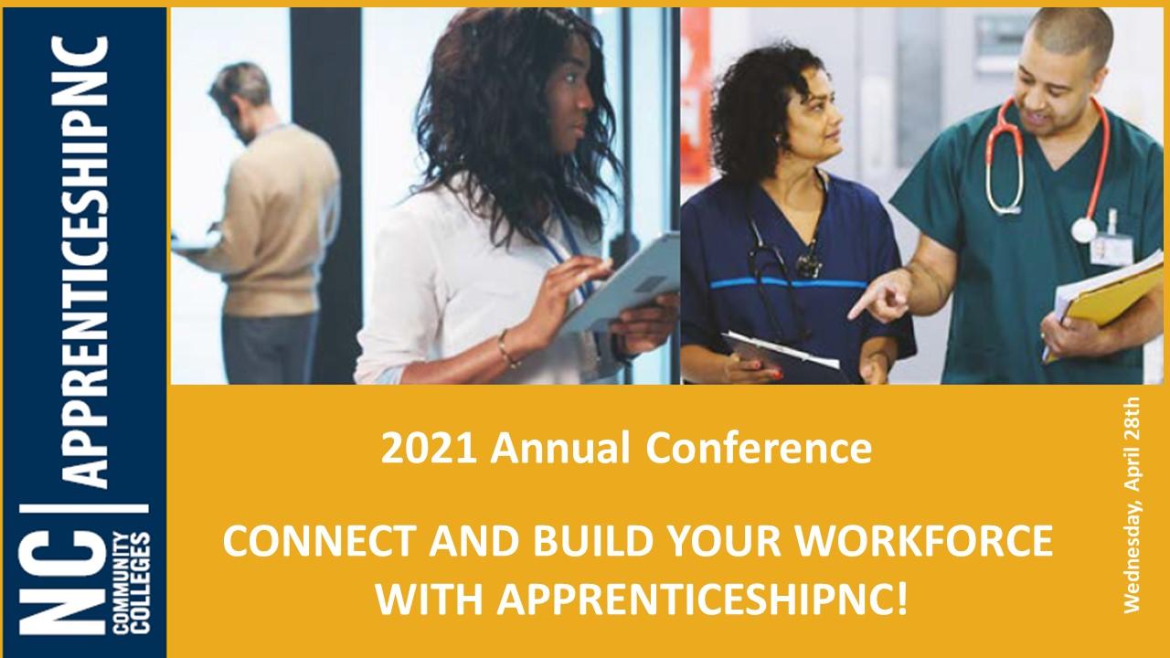 2021 Apprenticeship Conference Speakers - President Thomas A. Stith III, John Ladd, Peyton Holland