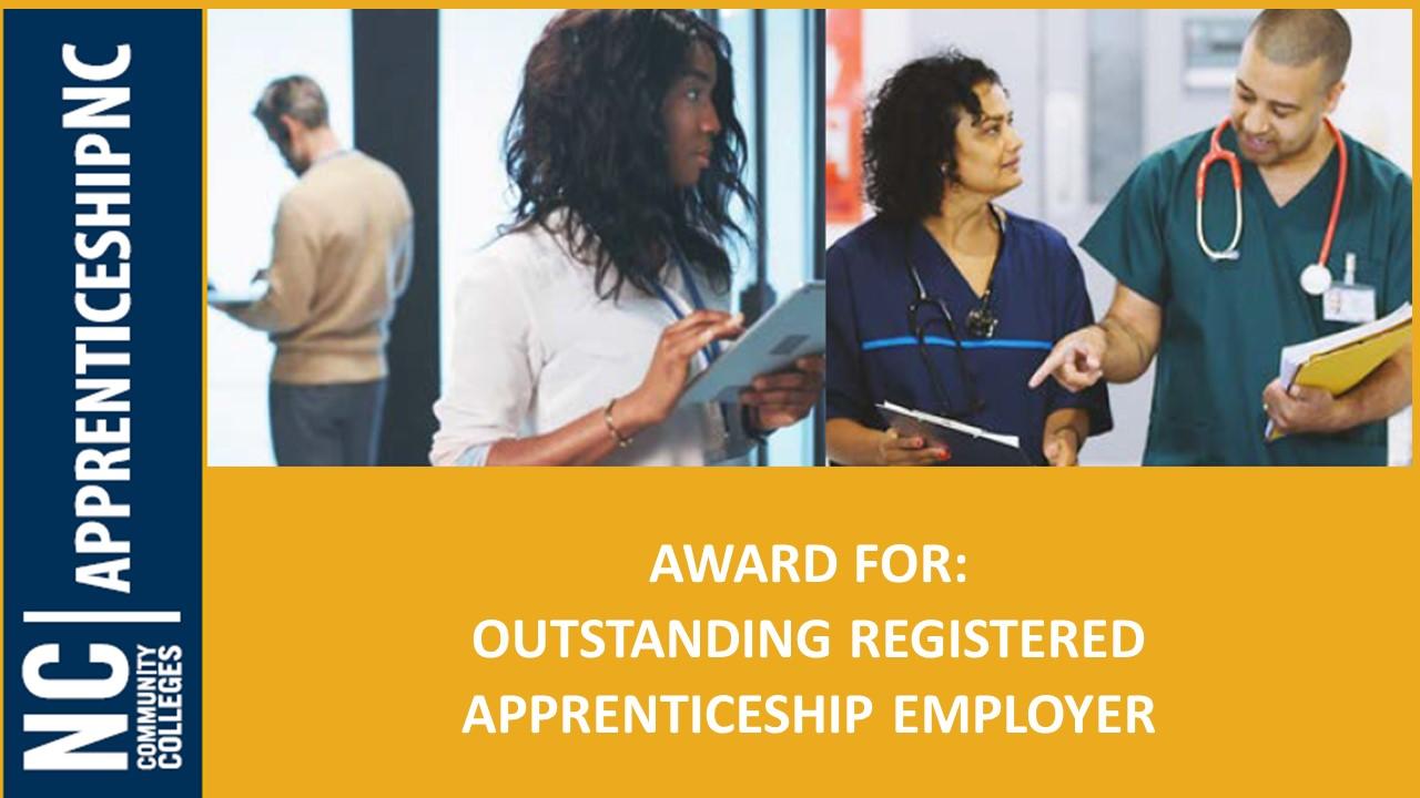 2021 Outstanding Registered Apprentice Recognition Award